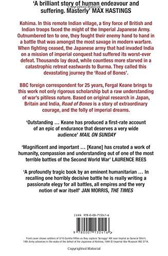 Road of Bones  the epic siege of kohima  Amazon.co.uk  Fergal Keane   8601404333729  Books c65603a73c3