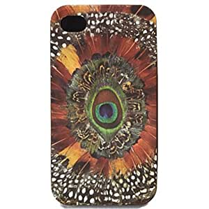 Lucky Brand Iphone 4/4S Case Feather Print Graphic Hardcase