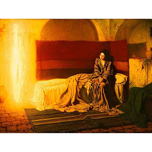 Wee Blue Coo Tanner The Annunciation Unframed Wall Art Print Poster Home Decor Premium