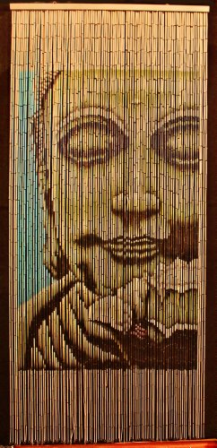 Bamboo Beaded Curtain Buddha Doorway Room Divider 90 Sreands NT/BB-01 (Curtains Bathroom Sears)