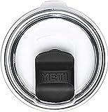 Magnetic Lid 30 oz Splash Proof - NO LEAK & Splash resistant Vacuum Replacement Black Magnetic Lid Fits for YETI Rambler, Ozark Trail, Old Style Rtic and More (Black)