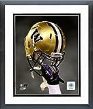 Washington Huskies Football Helmet Spotlight Photo (Size: 18'' X 22'') Framed