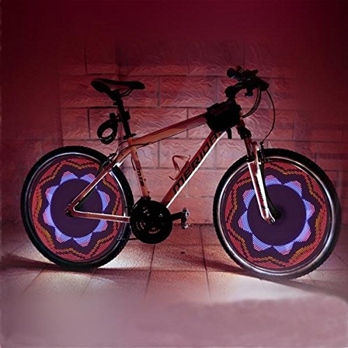 Bicycle Bike Cycling 32 LED 42 Patterns Wheel Light