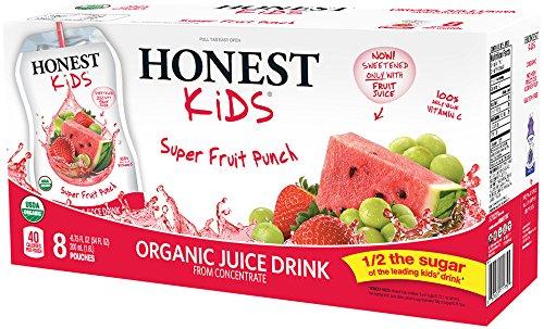 Honest Kids Super Fruit Punch Organic Fruit Juice Drink, 59 fl oz