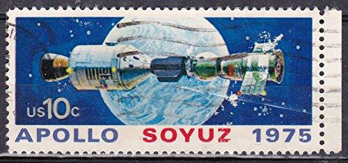 1975 US Postage Stamps - 10c Apollo Soyuz 1975 ()