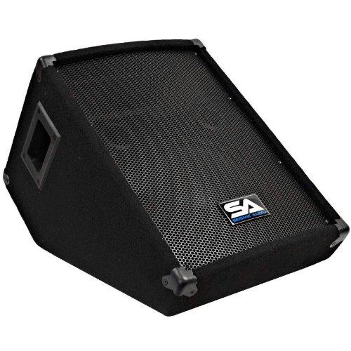 Seismic Audio SA-10MSingle Wedge Style Floor Monitor - PA/DJ by Seismic Audio