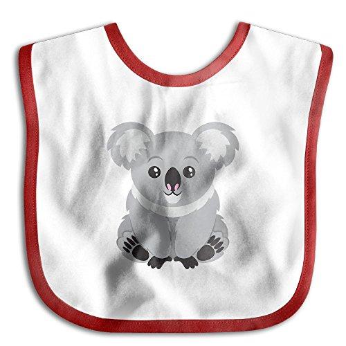 Australia Koala Bear Infant Toddler Bibs Adjustable Snaps Cute Prints Baby Bib Funny Baby Shower - Gift