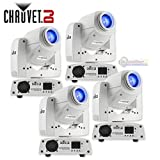 Chauvet DJ Intimidator Spot 255 IRC 60 W LED Moving Yoke Head DMX Light (4 Pack)