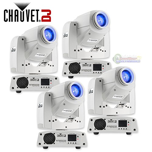 Chauvet DJ Intimidator Spot 255 IRC 60 W LED Moving Yoke Head DMX Light (4 Pack) by CHAUVET DJ