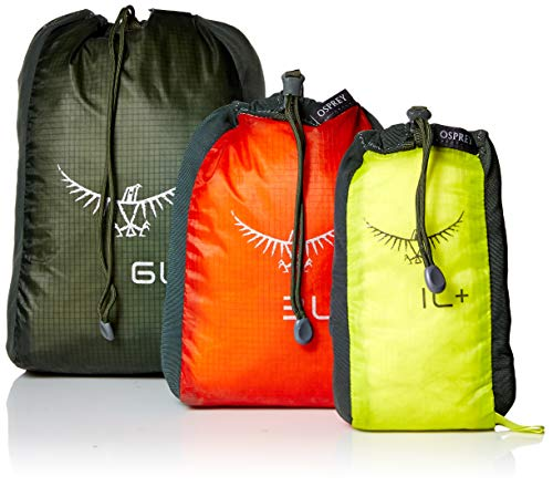 - Osprey Packs Ul Stretch Stuffsack Set, Assorted Colors, One Size