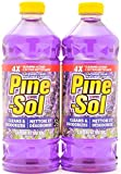 Pine Sol Lavender Scent Clean and Deodorizes Multi Surface Cleaner, 47.67 Oz Twin Pack, (47.67 Oz x 2, Total 95.35 Oz)