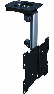 LCD LED TV Flip Down Tilt Swivel Folding Under Cabinet And Ceiling Mount  Bracket For 17