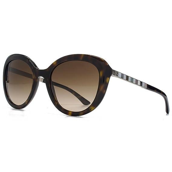 067e88ed5a Giorgio Armani Cateye Sunglasses in Havana AR8065H 502613 52 52 Brown  Gradient  Amazon.co.uk  Clothing