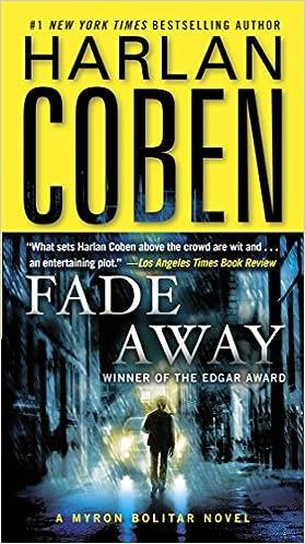 Amazon Fr Fade Away A Myron Bolitar Novel Harlan Coben