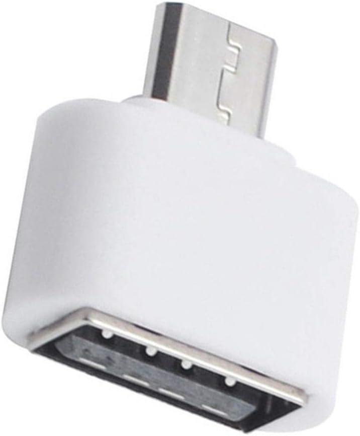 wufeng Las expansiones de Teclado ratón Flash Mini OTG adaptadores Tableta del teléfono móvil Lector de Tarjetas Micro USB: Amazon.es: Hogar