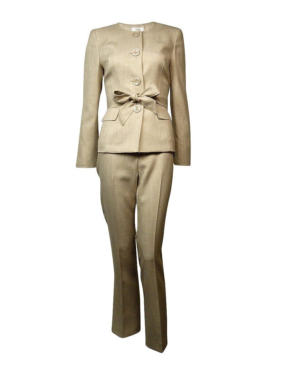 Le Suit Women's Two-Piece Jacket and Pant Set 50032200