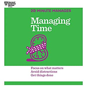Managing Time Audiobook