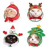 Kitan Club 'Kawaii Kawaii' Cat Christmas Costume Headgear Set of 4