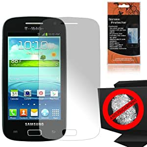 Samsung Galaxy S Relay 4G T699 Custom-Fit Anti-Glare Screen Guard Protector Shield Film Kit