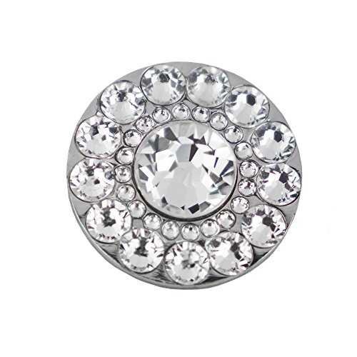 Swarovski Crystal Golf Ball Markers - Premium Golf Gifts for Women by Girls Golf Bling