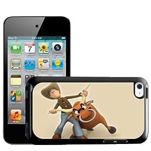 Fancy A Snuggle disco duro externo de vaquero con toro carcasa rígida para Apple iPod Touch 4th generación