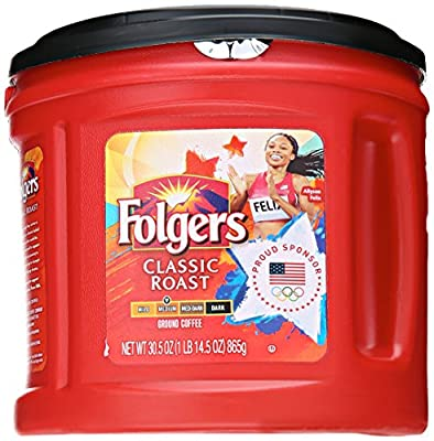 Folgers Classic Roast Coffee, 30.5 Ounce