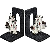 Design Toscano Knights of the Digital Realm Sculptural Bookends