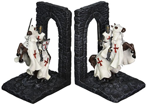 (Design Toscano Knights of The Digital Realm Sculptural Bookends [Kitchen])