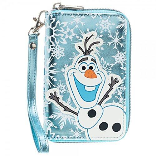 Disney Frozen Olaf Small Zip Around Wristlet Wallet (Party City Olaf)