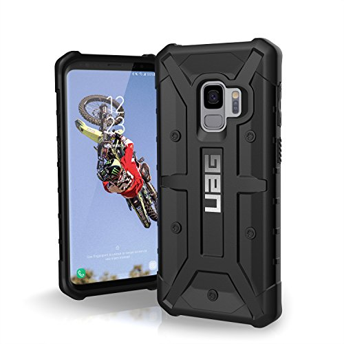 URBAN ARMOR GEAR UAG Designed for Samsung Galaxy S9 [5.8-inch Screen] Pathfinder Feather-Light Rugged [Black] Military Drop Tested Phone Case