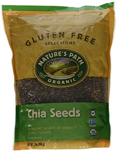 Nature's Path Organic Chia Seeds Black, 32 Ounce