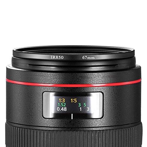Neewer 67MM Infrared Filter - IR850 - for Kodak, Fuji, Sony, Canon, Nikon + MORE!