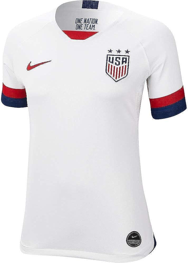 genéticamente solicitud Parte  Amazon.com: Nike USA 2019 - Camiseta para mujer: Clothing