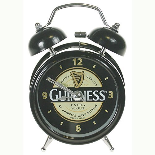 Guinness Twin Bell Alarm Clock GNS2023