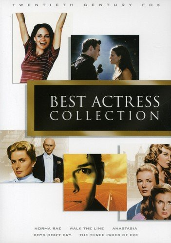 20th Century Fox Best Actress Collection (Anastasia/The Three Faces of Eve/Norma Rae/Boys Don't Cry/Walk the Line) ()