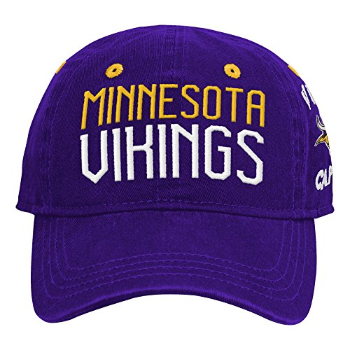 Outerstuff NFL NFL Minnesota Vikings Infant My First Slouch Hat Regal Purple, Infant One Size