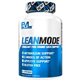 Evlution Nutrition Lean Mode Stimulant-Free Weight Loss Support, Diet System with Garcinia Cambogia,...