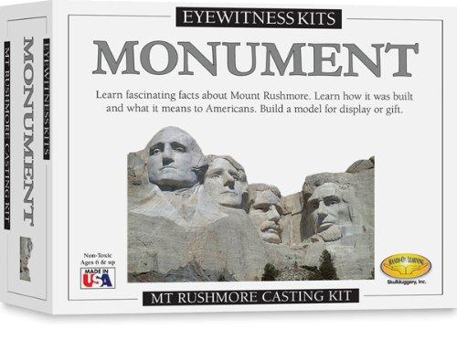 Eyewitness Kit - Skullduggery Eyewitness Kit Monuments - Mount Rushmore Casting Kit