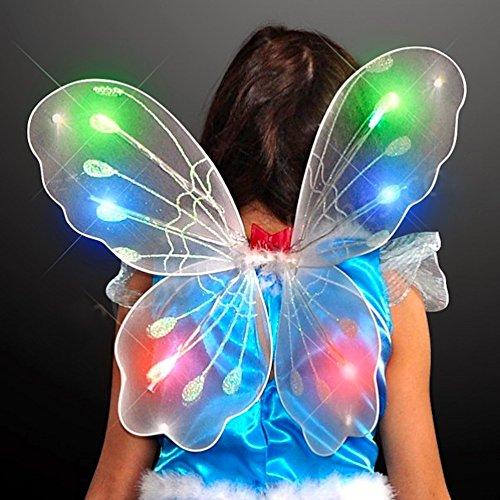 Light Up Flashing Fairy Butterfly Wings - Tons of fun for that next party!