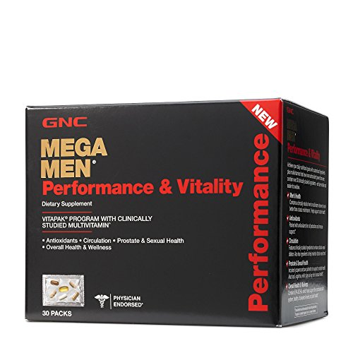 GNC Mega Men Performance Vitality product image