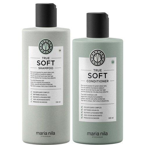Maria Nila True Soft Shampoo and Conditioner Set (350/300mls)