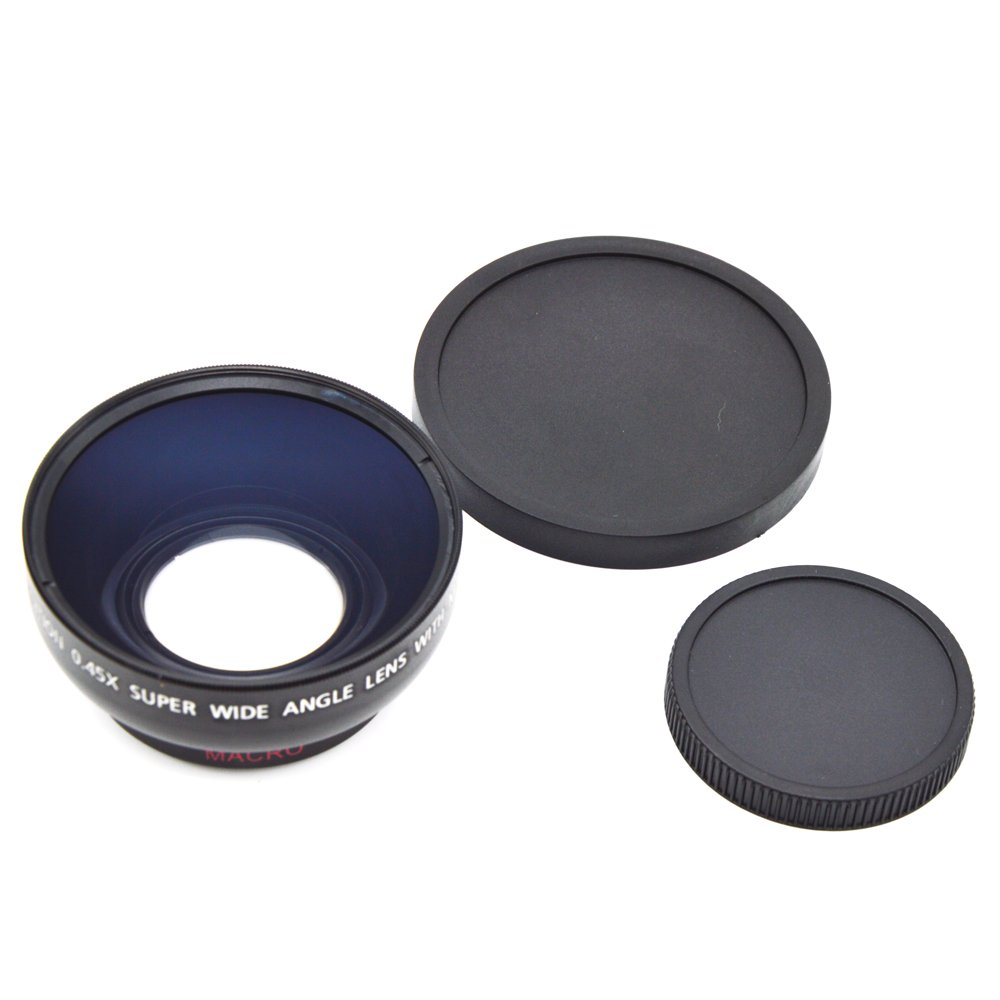 Generic 43mm 0.45x Wide Angle Lens with Macro for Canon Vixia HF R70, R72, R700, R30 STK0151008294