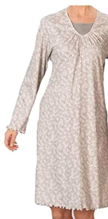 new arrival daf14 012ac Sleepshirt Damen Nachthemd von Pill (54, Taupe): Amazon.de ...