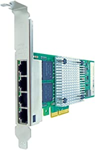 Axiom 540-BBGX-AX Network Adapter - PCIe 2.1 x4 - Gigabit Ethernet x 4 - for Dell EMC PowerEdge R230, R330, R430, R440, R540, R640, R740, R830, R940, T440, T640