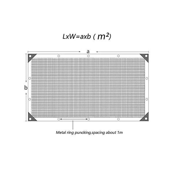 Giow - Telo protettivo in polietilene, protezione solare, antipolvere, chiusura lampo per esterni, 18 misure (colore… 3 spesavip