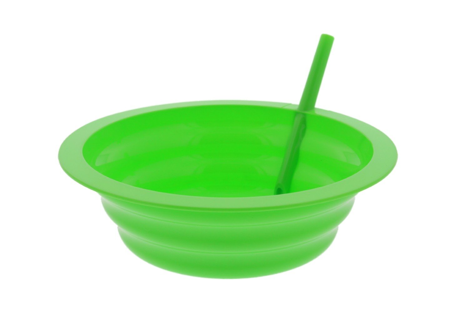 Arrow Sip-A-Bowl With Built In Straw, 22 oz, Blue, Purple,Green, Orange (4 Pack) by Arrow Home Products (Image #6)