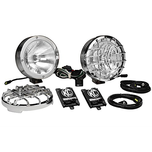 KC HiLiTES 862 Rally 800 Series Stainless Steel 50w HID Driving Light System (Rally 800 Series)