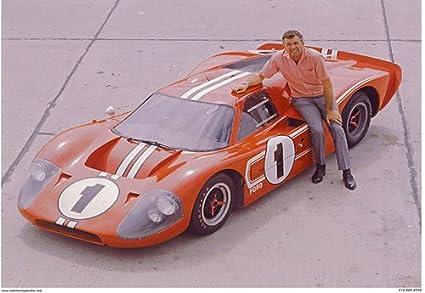 Crash Daddy Ford Gt  Mark Iv Lemans Winner Racing Poster