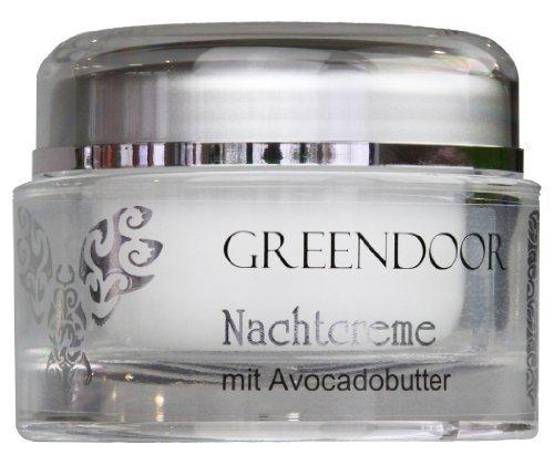 Greendoor Nachtcreme mit Avocadobutter 50ml aus der Naturkosmetik Manufaktur