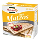 Manischewitz Passover Egg Matzo, 12 Ounce Boxes (Pack of 6)